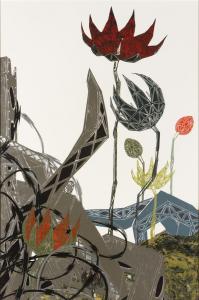 Half-Life (Blooms and Brambles), Nicola López. 2007