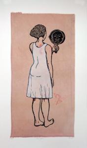 Mirror, Mirror; Mulatta Seeking Inner Negress, e.v. 9/10, Alison Saar. 2014