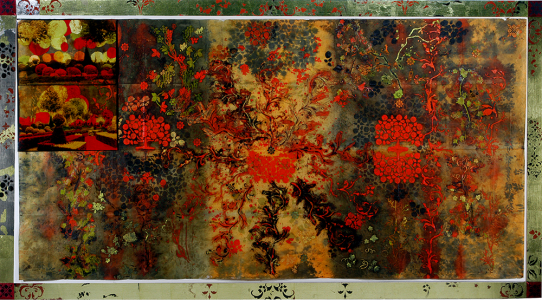 This Garden was Enchanted, e.v. 8/9, Judy Pfaff. 2002