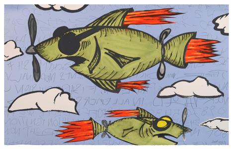 Rocket Fish, Bill Rock. 2016