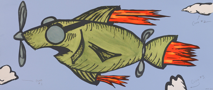 Rocket Fish: Cloud Counting, Bill Rock. 2016