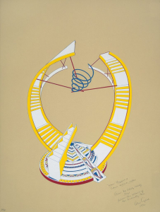 Miami Proposal I (tan), Alice Aycock. 1990