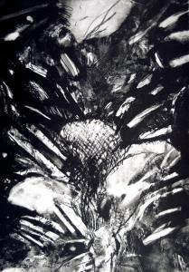 Passover Rose, (state IV), Robert Janz. 1988