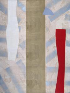 Castle Banner 1, Sam Gilliam. 2004