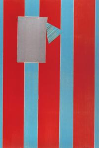 Castle Banner 5, Sam Gilliam. 2004
