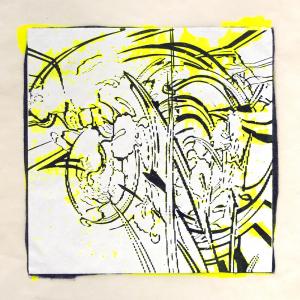 """スピナ (""""spinner"""") 2, Judy Pfaff. 2017"""