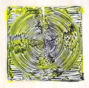 """スピナ (""""spinner"""") 3, Judy Pfaff. 2017"""
