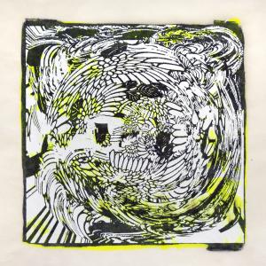"""スピナ (""""spinner"""") 4, Judy Pfaff. 2017"""