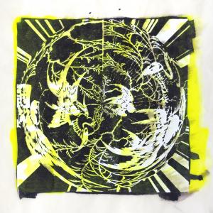 """スピナ (""""spinner"""") 7, Judy Pfaff. 2017"""