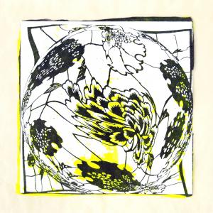 """スピナ (""""spinner"""") 8, Judy Pfaff."""