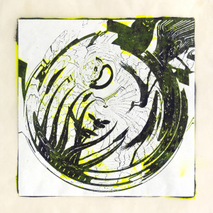 """スピナ (""""spinner"""") 9, Judy Pfaff. 2017"""