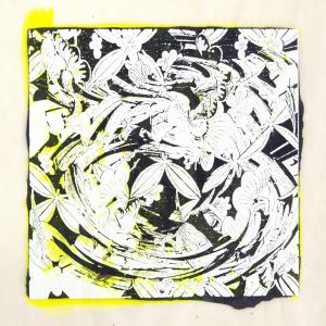"""スピナ (""""spinner"""") 10, Judy Pfaff. 2017"""