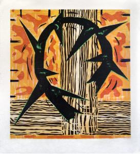 Spine, Gregory Amenoff. 1991