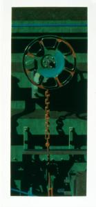 Rolling Stock Series No. 7, for Jim, Robert Cottingham. 1991