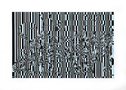 Untitled (DK01 602), David Klamen. 2001