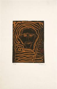 Autoretrato (Self-Portrait), Rafael Ferrer. 1988