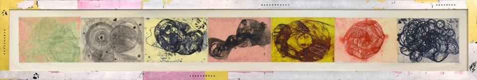 """Ukbar, Ucbar, Ooqbar, Ookbar, Oukbahr"", Judy Pfaff. 2002"