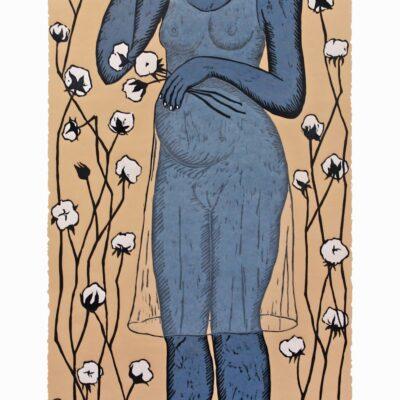 Alison Saar, Cotton Eater II, 2014