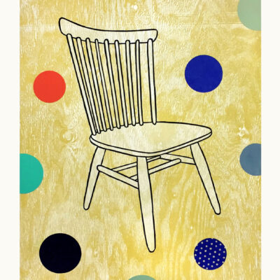 Dan Rizzie, Empty Chair, 2015