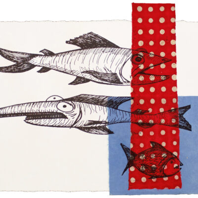 Bill Rock, Fish With Polka Dot Visitor
