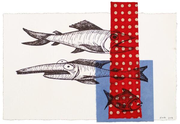 Bill Rock, Fish With Polka Dot Visitor