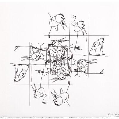 Bill Rock, Hungry Bird (Escher), 2016