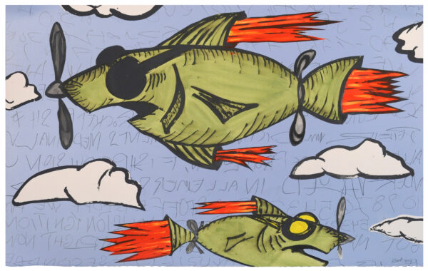 Bill Rock, Rocket Fish, 2016