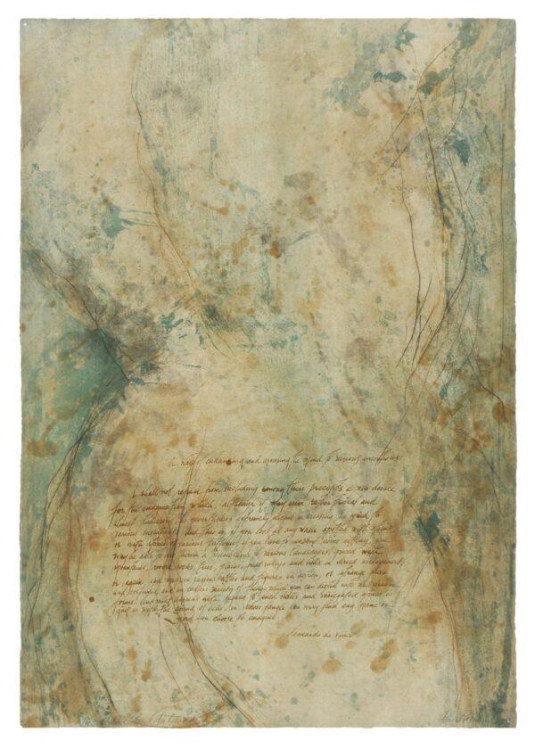 Jane Rosen, Spots & Stains (Leonardo's Horse), 2003