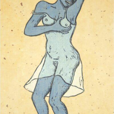 Alison Saar, Haint Blue, 2016