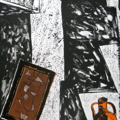 Italo Scanga, Cubist, 1989