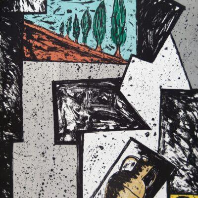 Italo Scanga, Napoli, 1989