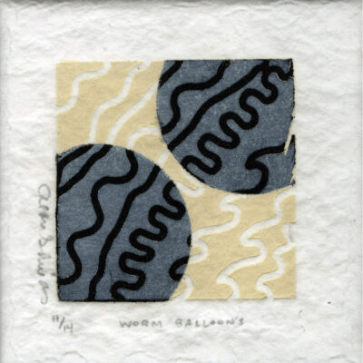 Alan Shields, Worm Balloons, 1994