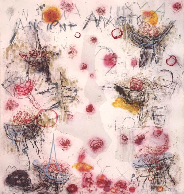 Joan Snyder, ALTAR, 2009