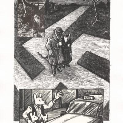Art Spiegelman, Crossroads, 1997