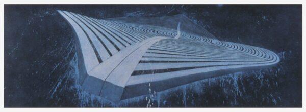 Robert Stackhouse, Blue Flyer, 2000