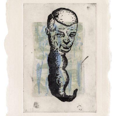 Fred Stonehouse, Untitled Monoprint #35, 1991