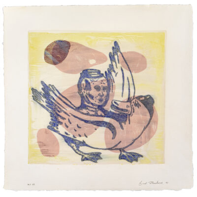 Fred Stonehouse, Untitled Monoprint #47, 1991