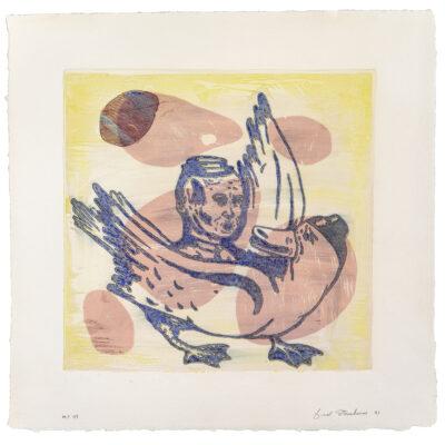 Fred Stonehouse, Untitled Monoprint #47, 1991