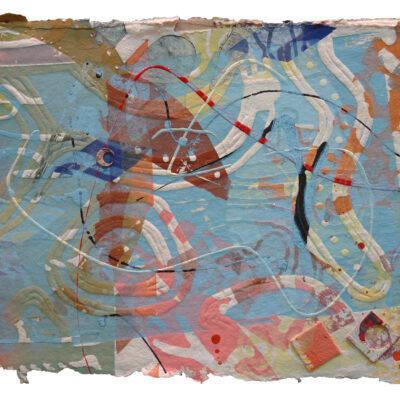 """William Weege, A Bird Sings #22 """"New Delhi"""", 2009"""