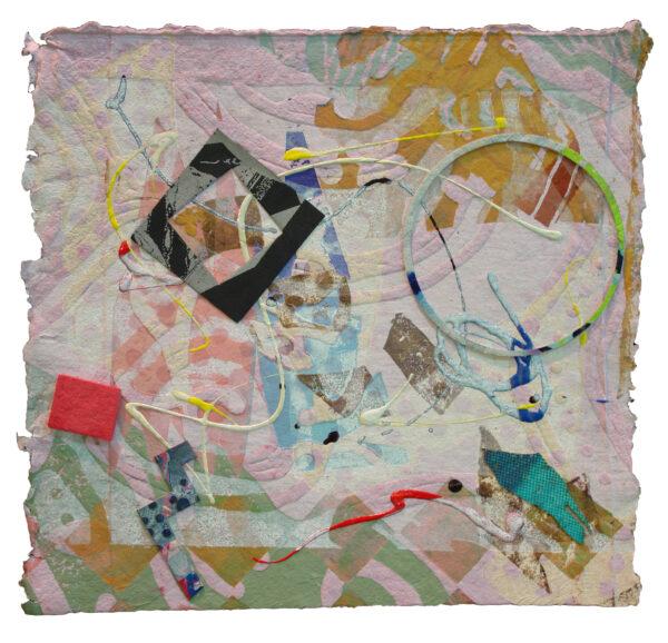 "William Weege, A Bird Sings #36 ""Harlem Congo"", 2009"