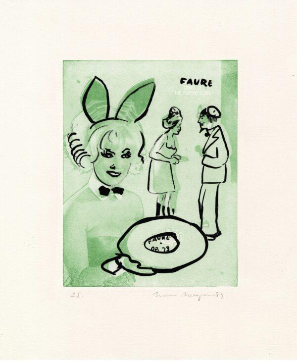 William Wegman, Faure, 1989