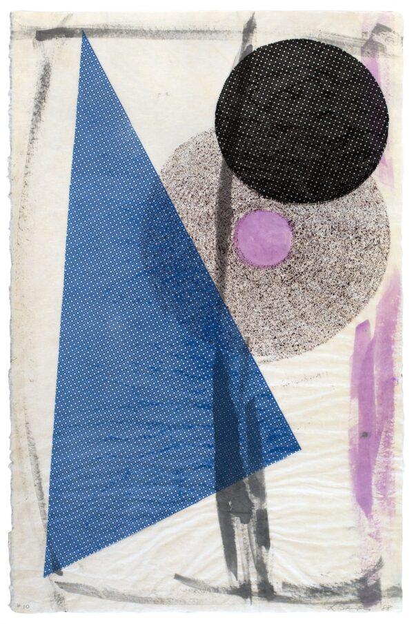 Lynda Benglis, Tandem Series #10, 1988