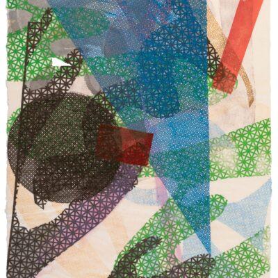 Lynda Benglis, Tandem Series #13, 1988
