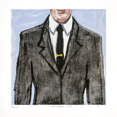 Richard Bosman, DB Cooper's Suit 1, 2019