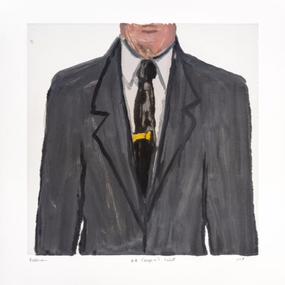 Richard Bosman, DB Cooper's Suit 2, 2019