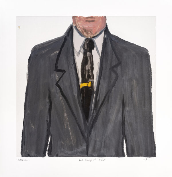 Richard Bosman, DB Cooper's Suit 2, 2019