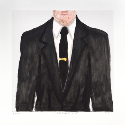 Richard Bosman, DB Cooper's Suit 3, 2019