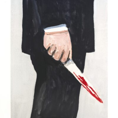 Richard Bosman, Knife 1, 2019