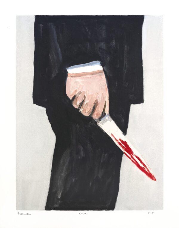Richard Bosman, Knife 1, 2019