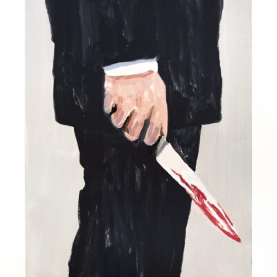 Richard Bosman, Knife 2, 2019